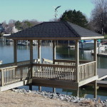 Dock with Hip Roof