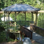 Dock with Metal Roof Gazebo
