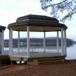 Dock with Colonial Gazebo