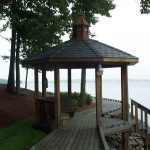 Dock with Gazebo