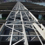 """Rowboat Series""Galvanized Welded Steel Truss"