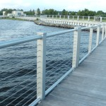 Waterfront PromenadeStainless Wire Rail