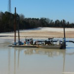 Cleaning Tailings PondImreys MineralsKings Mountain, NC