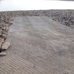 Roughened Pavementfor Launch Ramps