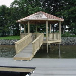 Raised Copper Gazebo
