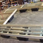 """Captain Series""Wales, Decking Sleepers"