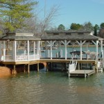 Colonial Fixed Dockwith Gazebo