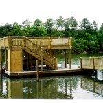 Covered Floating Dockwith Party Deck