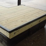 """Captain Series""Toe-Rail, Composite Decking"