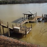 Fixed Dockwith Boatlift and Access