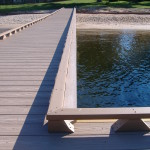 TREX Matching CompositeClean, Uncluttered Toe-Rail